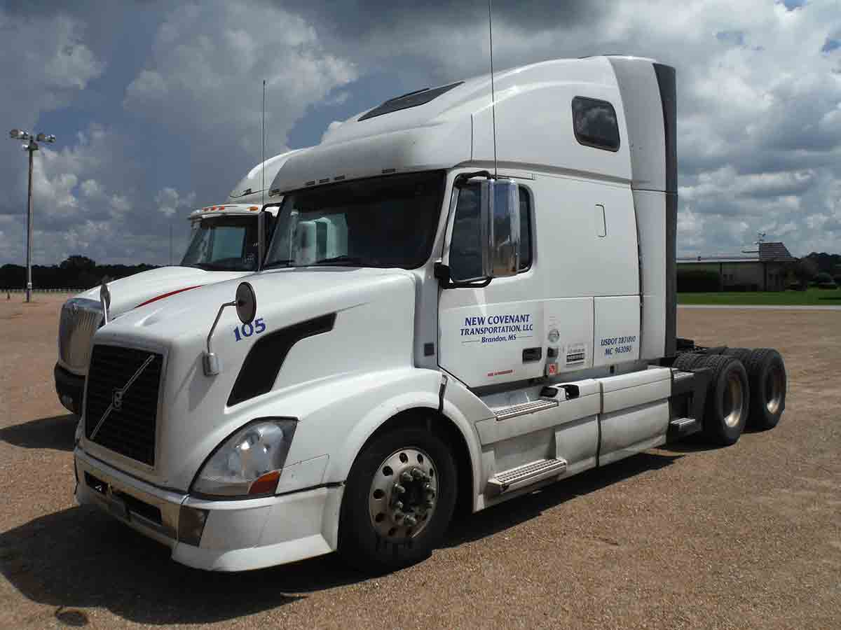 Deanco Auctions 2012 Volvo Vn Wiring Harness Vnl Truck Tractor S N 4v4nc9eh6cn547754 Sleeper D13 425hp Eng 10 Sp 775k Mi