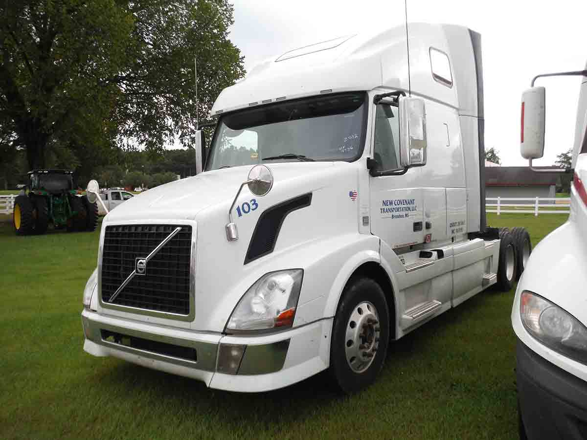 Deanco Auctions 2012 Volvo Vn Wiring Harness Vnl Truck Tractor S N 4v4nc9eh4cn547736 10 Sp Sleeper